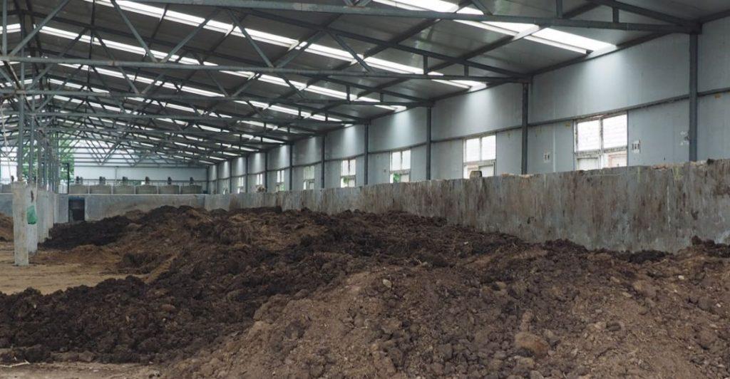 小刘固农场的堆肥工厂