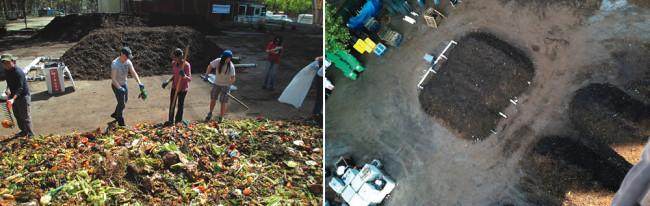 西皇后区果蔬市场和食物残渣堆肥