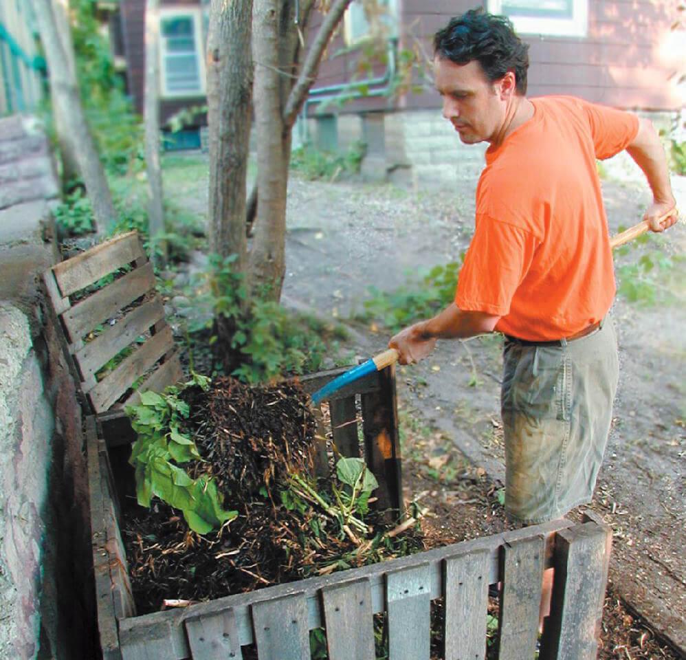 如何自制堆肥有机垃圾